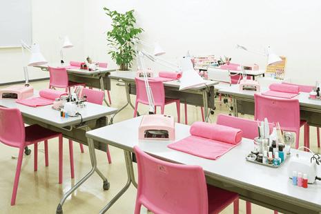 福岡ベルエポック美容専門学校画像